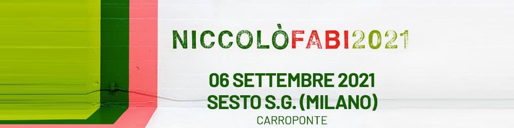 Niccolò Fabi in concerto - Carroponte Milano