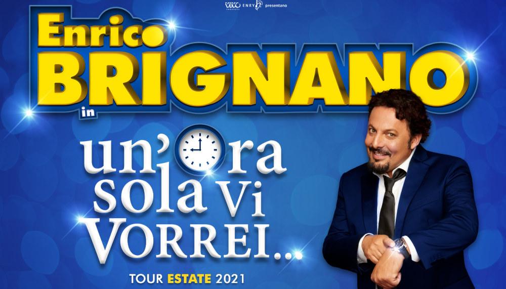 Enrico Brignano con Un'ora sola vi vorrei - Teatro Arcimboldi Milano