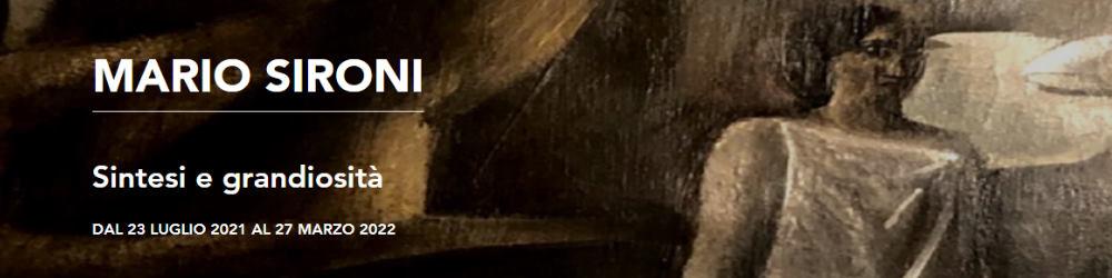 """mostra """"Mario Sironi. Sintesi e grandiosità"""" - Museo Del Novecento, Milano"""