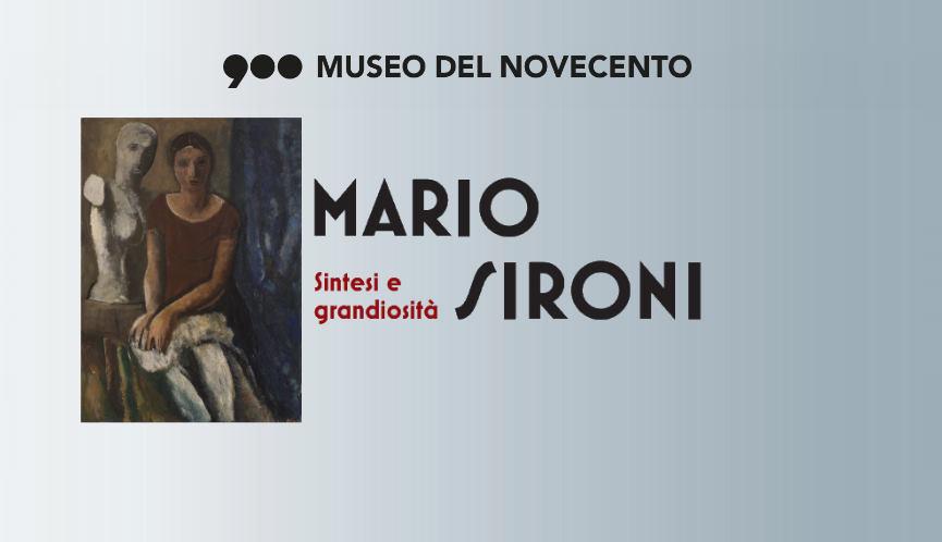 Mario Sironi, retrospettiva - Museo Del Novecento, Milano