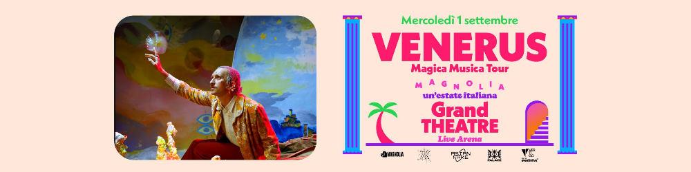 VENERUS in concerto  - Circolo Magnolia Segrate Milano