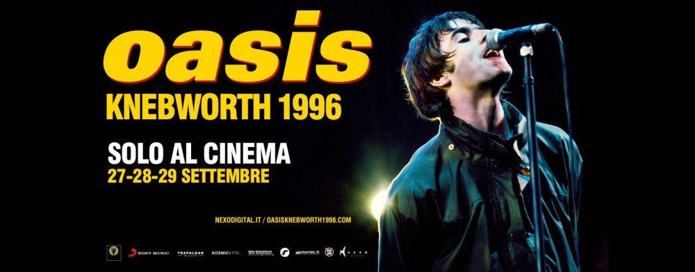 OASIS Knebworth 1996 nei cinema di Milano