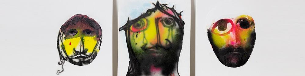 """""""Testa Cristiana"""" di Alessandro Pessoli - Museo di Sant'Eustorgio Milano"""