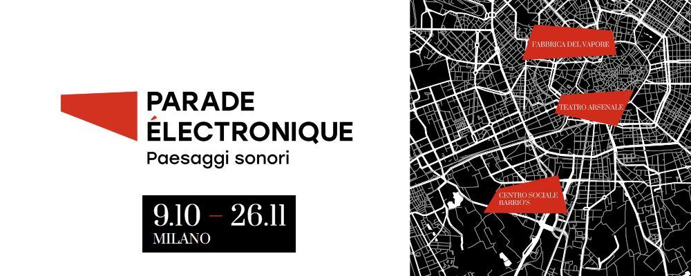 Parade Électronique 2021 - Milano
